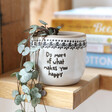 Lisa Angel Small 'Do More Of What Makes You Happy' Planter