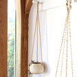 Lisa Angel Small Natural Ceramic Hanging Planter