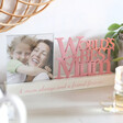 Lisa Angel 'World's Best Mum' Photo Frame