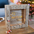 Lisa Angel Unique Personalised Fill Your Own Wooden Vintage Advent Calendar Light Box