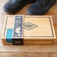 'Buff & Shine' Cigar Box Shoe Kit Packaging