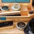 'Buff & Shine' Cigar Box Shoe Kit