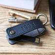Lisa Angel Personalised Key Tidy & 16GB Flash Drive Keyring