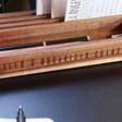 Personalised Wooden Desk Organiser