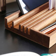 Men's Wooden Desk Organiser