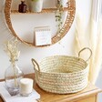 Round Open Weave Basket - Large
