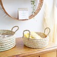 Round Open Weave Baskets - Small