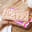 Tony's Chocolonely White Chocolate Raspberry Popping Candy 180g Bar