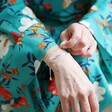 Model Wearing Adult Personalised Sterling Silver Identity Bracelet From Lisa Angel