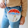 Close Up of Moomin Umbrella Mini Bag