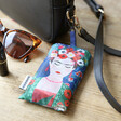 Recycled Frida Kahlo Shopper Tote in Pouch