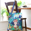 House of Disaster Recycled Frida Kahlo Shopper Tote
