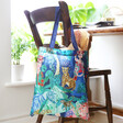 Back of House of Disaster Recycled Frida Kahlo Shopper Tote