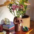 Lisa Angel Ceramic Namaste Body Vase