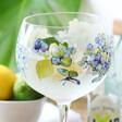 Hydrangea Balloon Gin Glass