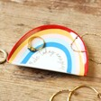 Lisa Angel 'Make Today Amazing' Rainbow Trinket Dish