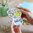 Lisa Angel Small Personalised Wildflower Trinket Dish for Her