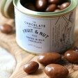 Lisa Angel 90g Tin of Milk Chocolate Coated Fruit and Nuts