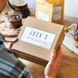 Father's Day Personalised Ground Coffee Bean Selection Hamper