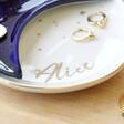 Lisa Angel Personalised Ceramic Nesting Moon Trinket Dish Set