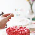 Lisa Angel Personalised Rainbow Hand-Painted Acrylic Cake Topper