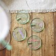 Personalised Set of 3 Clear Acrylic Glass Token