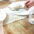 Handmade Hand-Painted Personalised Acrylic Wedding Table Number