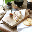 Personalised Small Wooden Cheeseboard Perfect for Stilton Brie and More