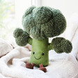 Lisa Angel Jellycat Amuseable Broccoli Soft Toy