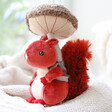 Lisa Angel Jellycat Fungi Forager Squirrel Soft Toy