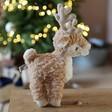 Small Jellycat Mitzi Reindeer Soft Toy