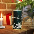 Personalised Decorative Light with Houses