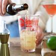 Lisa Angel Fred Good Measure Beer Cocktail Recipe Glass