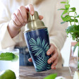 Lisa Angel Stainless Steel Tropical Cocktail Shaker
