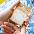 Throat Chakra and Swarovski Crystal Friendship Bracelet From Lisa Angel in Packaging