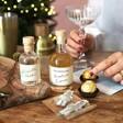 Contents of The Nutcracker Ferrero Rocher Cocktail Kit