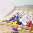 Ladies' Bright Dried Flowers Letterbox Gift