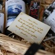 Lisa Angel Personalised Message Wooden Token