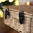 Close Up of Wicker Basket For Gift Hamper