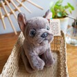 Lisa Angel Living Nature French Bulldog Puppy Soft Toy