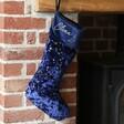 Lisa Angel Personalised Constellation Starry Velvet Christmas Stocking