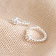 Lisa Angel Sterling Silver Crystal Huggie Hoop Earrings