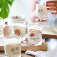 Personalised Birth Flower Scented Soy Candles