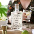 50cl Bottle of Personalised 'Wish You Lived Next Door' Alcohol