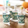 Set of Four One Gin Gift Box Bottles Out of Box at Lisa Angel