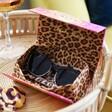 Model Wearing Lisa Angel Powder Limited Edition Marnie Sunglasses