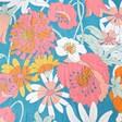 Lisa Angel Colourful Powder Retro Meadow Print Scarf