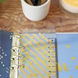 Close Up of Rulers from Carpe Diem Rainbow Personal Planner