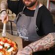 Men's Personalised 'Buon Appetito' Grey Apron