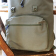 Personalised 'Your Drawing' Hidden Message Canvas Laptop Rucksack